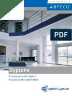 Gyptone Tiles Planks Boards Brochure