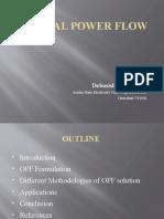 Optimal-Power-Flow-Report by Debasish Choudhury.pptx