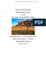 Melenedres #2028   Court Monitor Eleventh Report w DOJ & Plaintiffs Comments