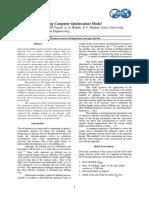 3D Well Design Using Computer Optimization Model