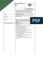 SOP Rencana Layanan Medis