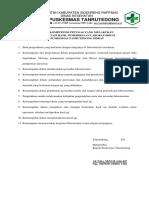 8.1.1.4 Syarat Kompetensi Petugas Yang Menginterprtetasi Hasil