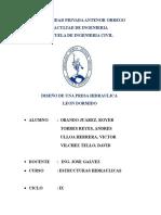 Informe Final e Hidraulicas