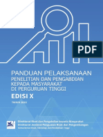 Panduan Pelaksanaan Penelitian Dan PPM Edisi X 2016