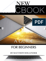 The New MacBook A Guide for Beginners - Matthew Hollinder.epub