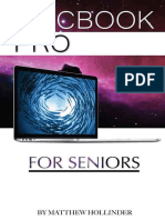 MacBook Pro For Seniors by Matthew Hollinder - 2015.epub