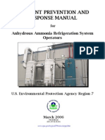 Accident Prevention Ammonia Refrigeration