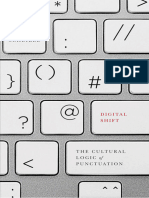 Digital Shift The Cultural Logic of Punctuation - Jeff Scheible - 2015.epub
