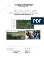 IFRM report bulk water allocation