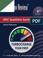 MR GMAT QuantitativeQuestionBank 6E