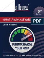 MR GMAT AnalyticalWriting 6E