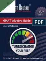 Mr GMAT Algebra 6e