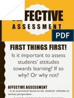 Affective Assessment