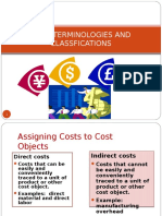 Cost behaviour