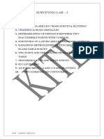 Surveyinglab Manuals