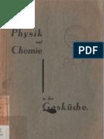 Physik und Chemie in der Gasküche - K. Schütt