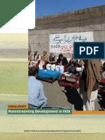 Mainstreaming Development in FATA Pakistan