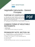 Negotiable Instruments.docx