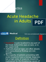 Acute Headache in Adult.pptx