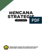 Renstra Migas 2015 2019