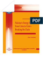 Pakistans Energy Sector From Crisis to Crisis-Breaking the Chain