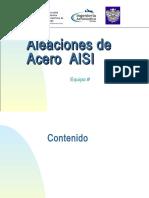 Aleaciones de Acero AISI
