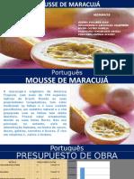 Mousse de Maracuya