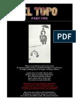 El Topo a Book of the Film