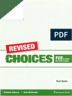 Choices Test Book greeek english
