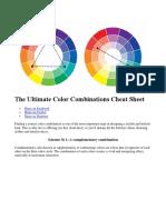 Combinatii de Culori-ROATA CULORILOR