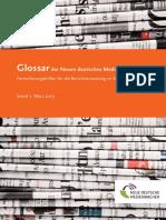 Glossar Presse