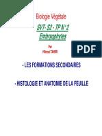 TP 2 Embryophyte