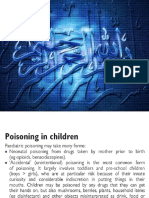 Poisoning in Paeds