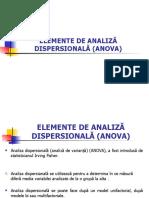 Curs 3 Econometrie ANOVA-Management an II, 2016