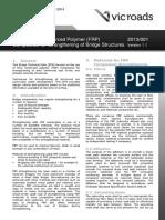 Use of FRP in Strengthening of Bridge - VR BTN 2013-001_V1
