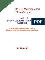 1.1 Energy Balance