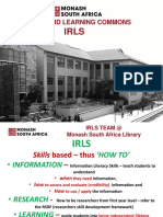 Orientation LSA Presentation -- 2016