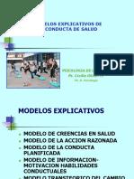 Modelos Explicativos de Conductas de Saludclase 20 Mayo