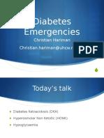 Diabetes Lecture 2011 - Chris Hariman Ver 3