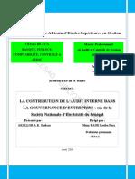 Audit Interne Et Gouvernance