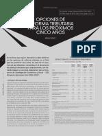 Opciones de Reforma Tributaria Para los Proximos Cinco Años.pdf