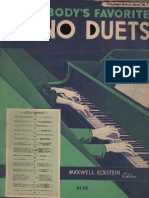 Various Artists Everybody s Favorite Piano Duets