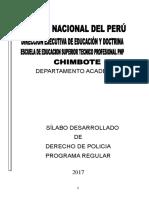 Modulo Derecho de Policia