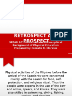History of Physical Education in the Philippines