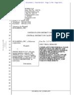 Sugarfina v. Sweet Pete's - Complaint