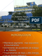HERIDAS TRAUMATICAS EN MIEMBRO SUPERIOR E INFERIOR.ppt