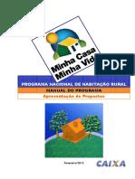 Cartilha PNHR - Habitaçao Rural