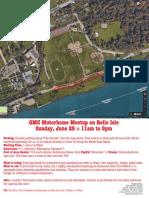 2017 06 25 GMC Belle Isle Meetup Flyer