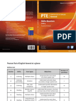 PTE General Skills Boosters 4 TB