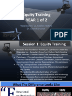 031317 RCSB Equity Training Report Presentation - Dr Corcoran